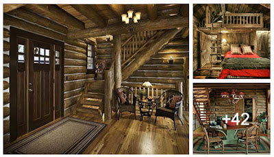 45 ideas de interiores de cabañas de madera