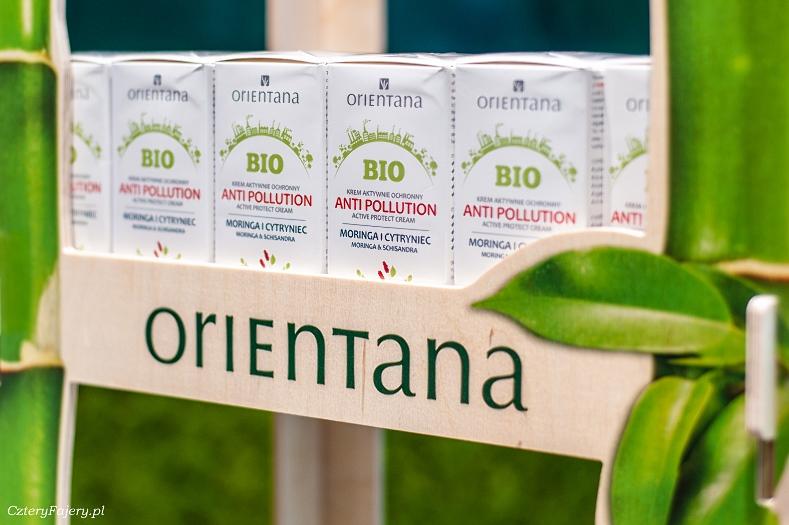 Krem ochronny anti-pollution Moringa i Cytryniec, Orientana
