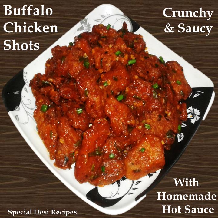 buffalo chicken shots special desi recipes