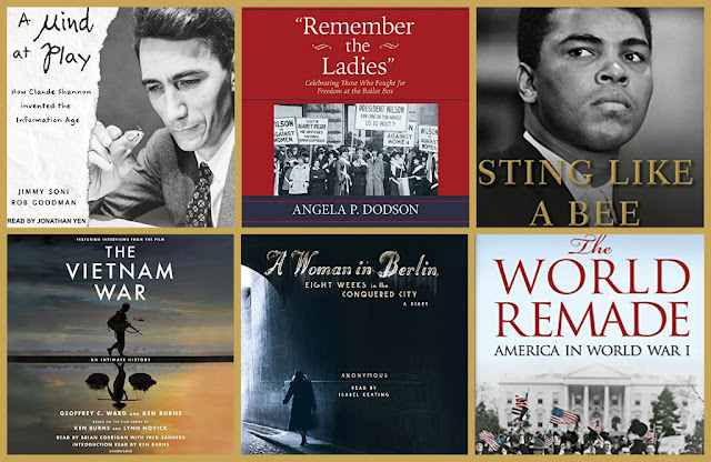AudioFile Magazine's best audiobooks in biography and history