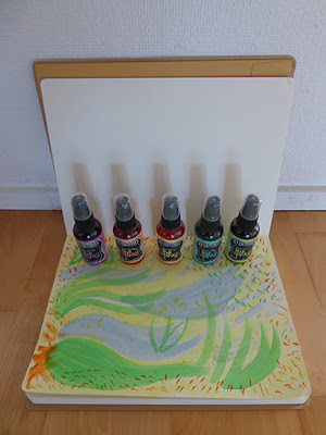Dylusions Art Journal og Ink Spray