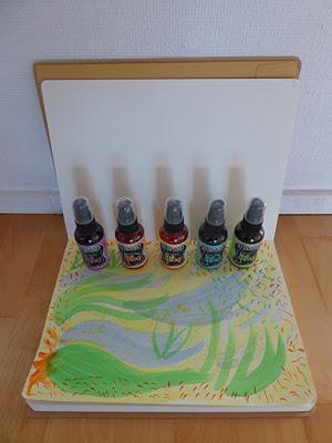Dylusions Art Journal og Ink Spray