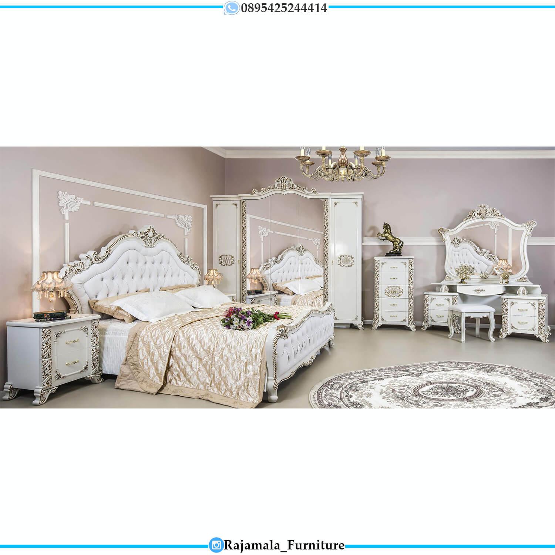 Dipan Mewah Ukiran Jepara Luxury Set Bedroom RM-0232