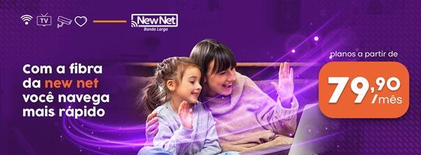 NEW NET: tenha você também a melhor conexão da Região!