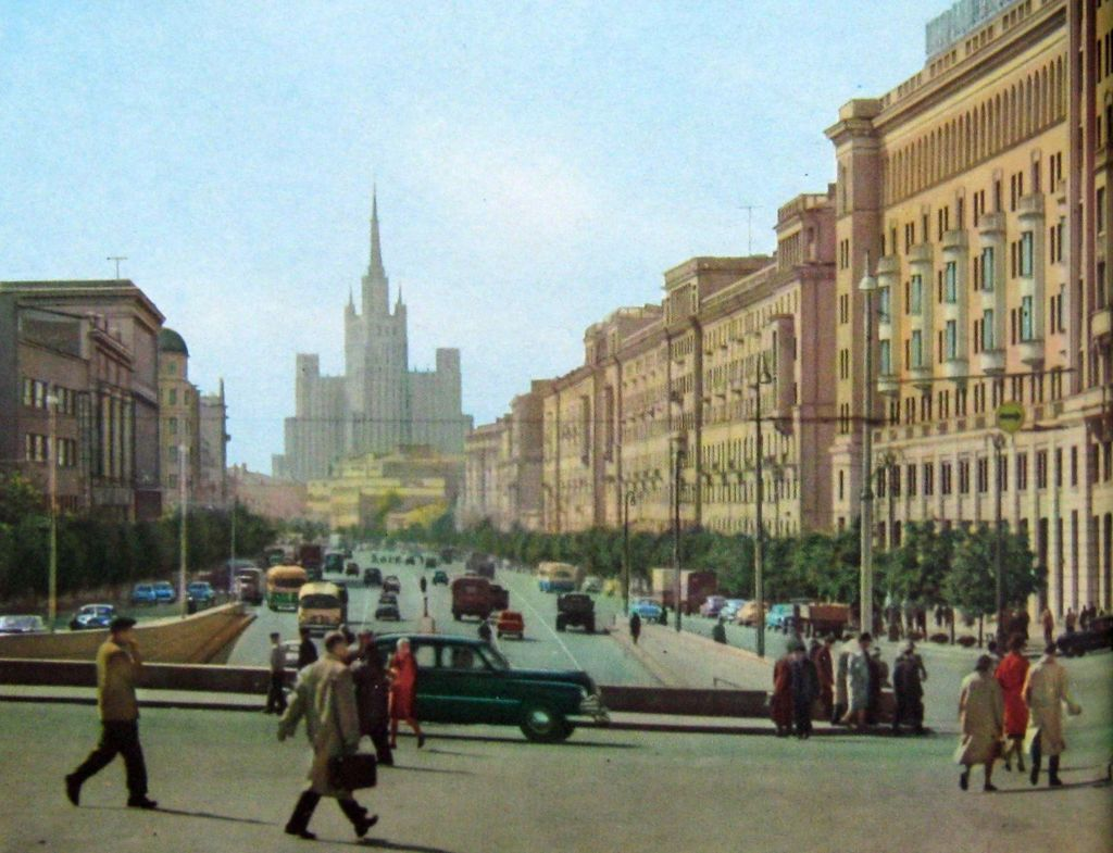 Vintage Photos Of Moscow In The Late Of 1950s Vintage