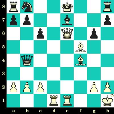 Les Blancs jouent et matent en 2 coups - Ferenc Berkes vs Diana Nemeth, Hongrie, 1996