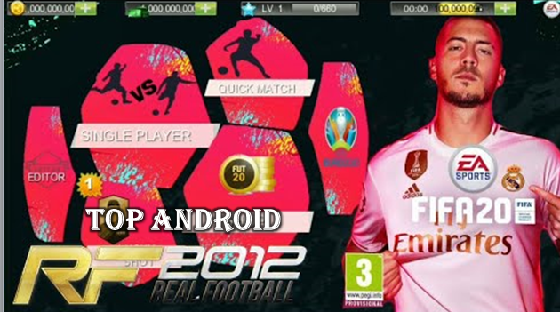 Real Football 2012 Mod Fifa 20 Offline