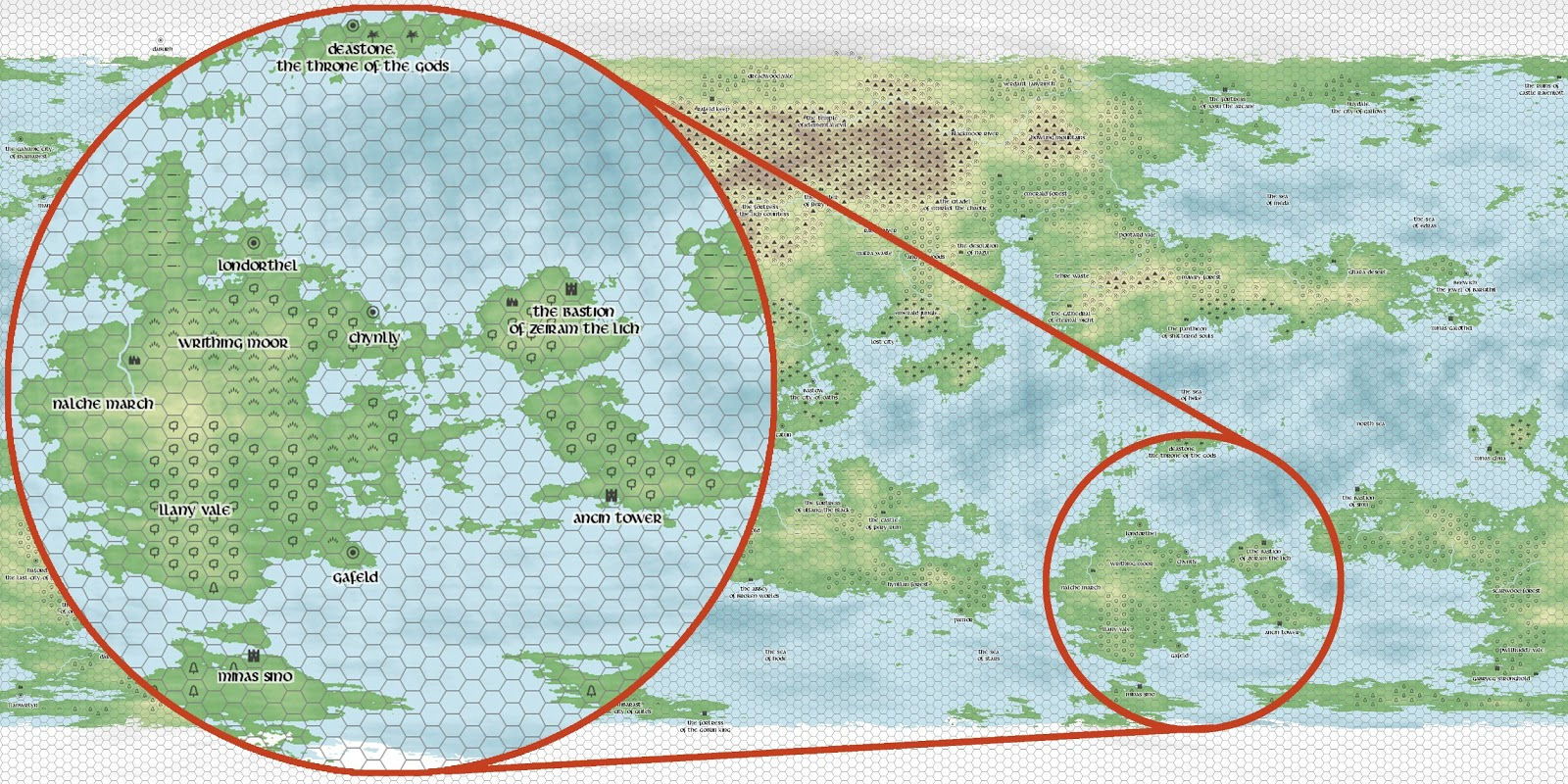 How To Create A Fictional World Map.Lampblack Brimstone Campaign Setting Making The World