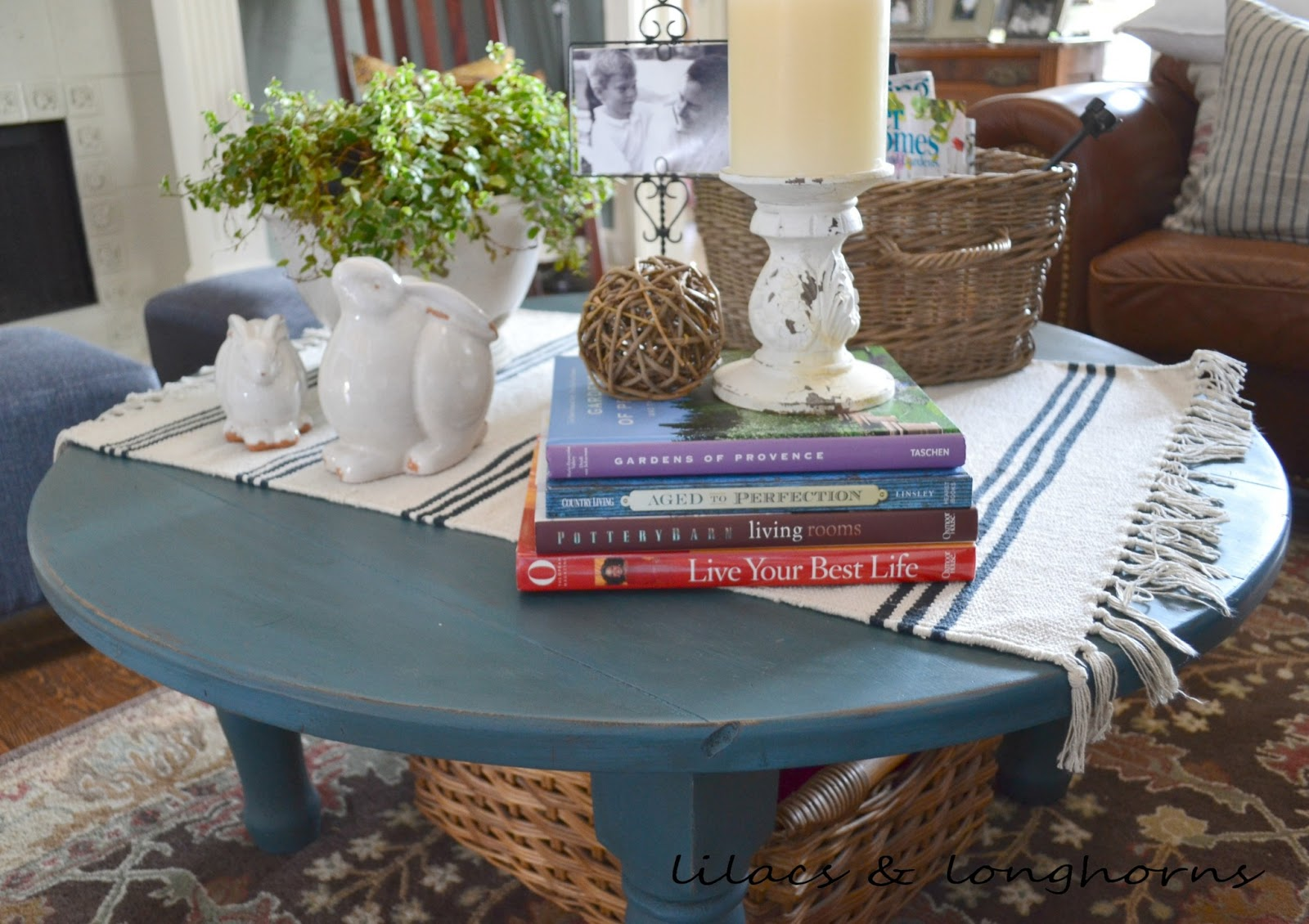 Delightful Blue Painted Coffee Table Part - 11: Annie Sloan Chalk Paint The Pros Cons Lilacs And. Blue Painted Coffee Table  ...