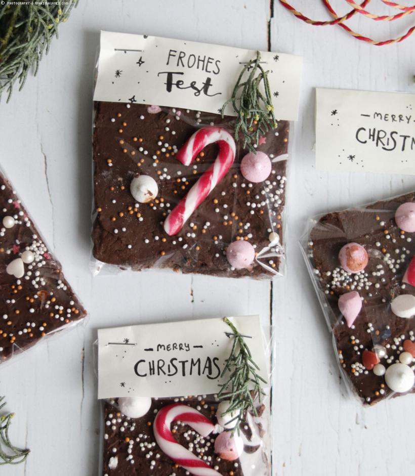 Last Minute Weihnachtsidee: Bruchschokolade