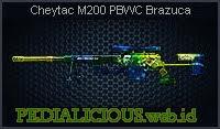 Cheytac M200 PBWC Brazuca
