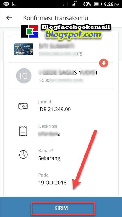 cara mengirim uang lewat aplikasi mandiri online hp android