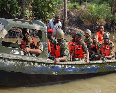 Operation Crocodile Smile suffer loss as 4 Soldiers drown In Bayelsa boat mishap