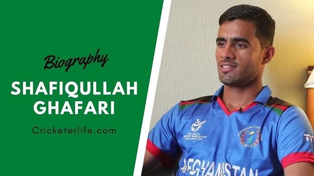 ShafiqUllah Ghafari bowling, biography, Age, height, family, etc.