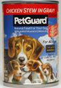 Picture of Petguard Chicken Stew In Gravy Dinner Canned Dog Food