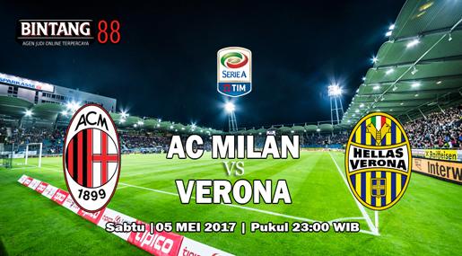 Prediksi AC Milan Vs Hellas Verona 5 Mei 2018