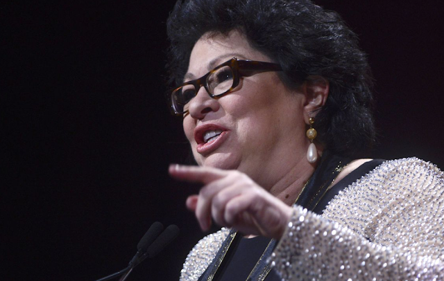 "Sonia Sotomayor condemns Trump's ""unrelenting attack on the Muslim religion and its follow­ers"""