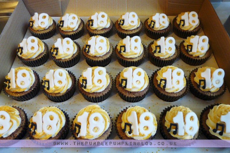 Looking Back I Dont Know Why Didnt Pipe Them On Like Did With The 40th Cupcakes Made A Few Months Later Oh Well You Live And Learn