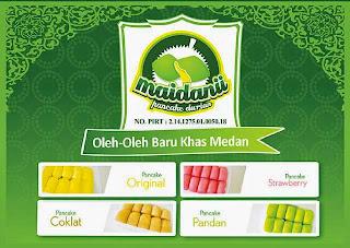 Pancake Oleh-Oleh khas Medan dari Maidaniipancake