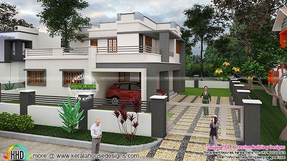 Box type residence plan
