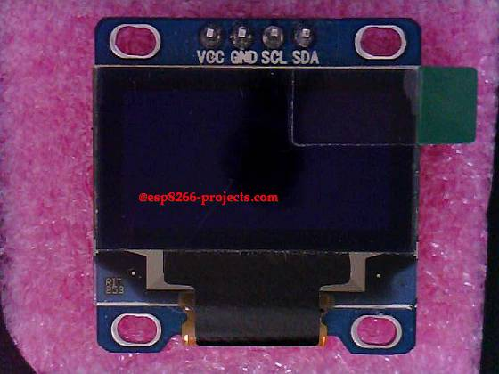 ESP8266 Projects: Mailbag !! SSD1306 OLED Display for
