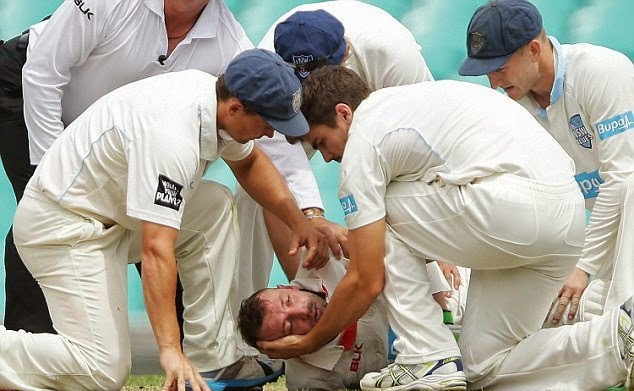 Sad Day for Cricket History Phillip Hughes Passed Away