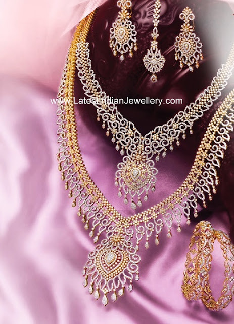 GRT Diamond Wedding Jewellery