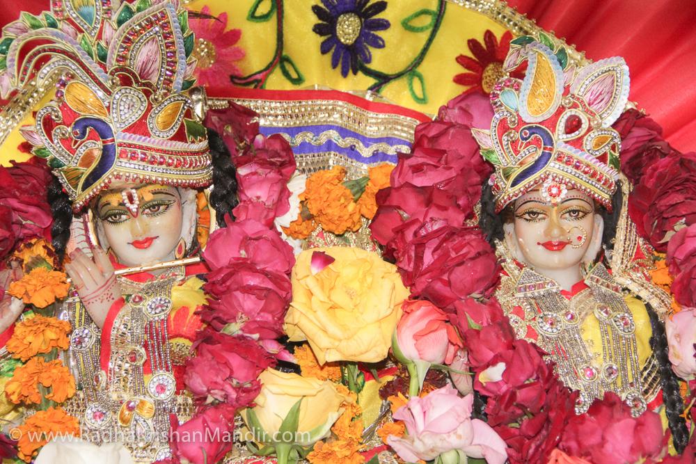 Radha Krishna Temple Delhi Holi Celebration - 2018