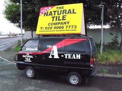 Not The A-Team's van!
