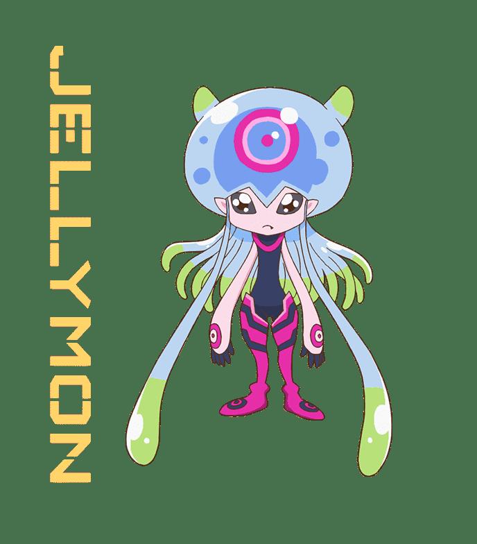Jellymon (Digimon Ghost Game)