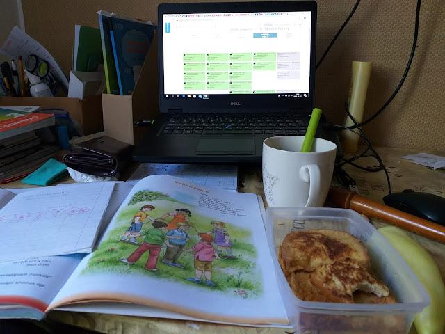 Home office reggeli. ????