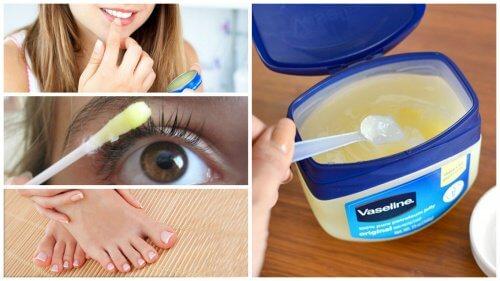 10 Utilisations cosmétiques de la vaseline pour protéger sa beauté