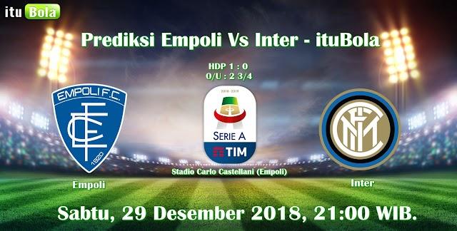 Prediksi Empoli Vs Inter - ituBola