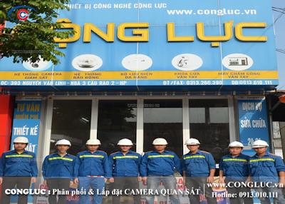 công ty chuyên lắp camera cho cửa hàng xăng dầu tại Quận Lê Chân
