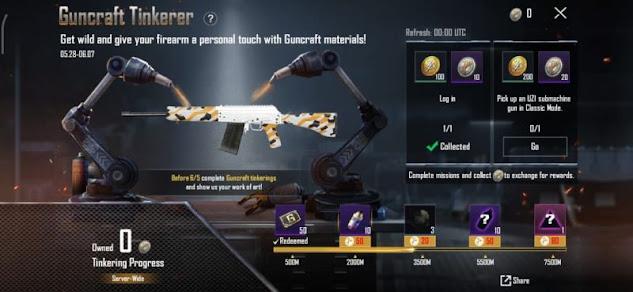 PUBG Mobile: 2021'de ücretsiz silah kaplamaları nasıl alınır?