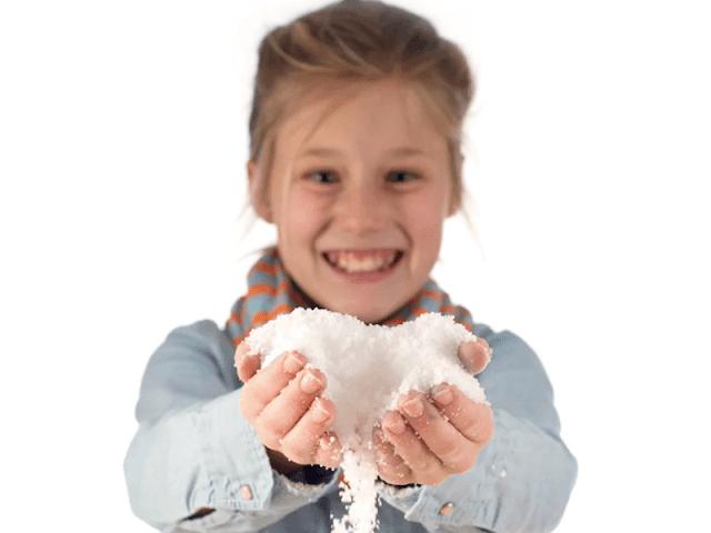 Instant Fake Snow from Steve Spangler