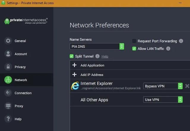صورة خدمة Private Internet Access
