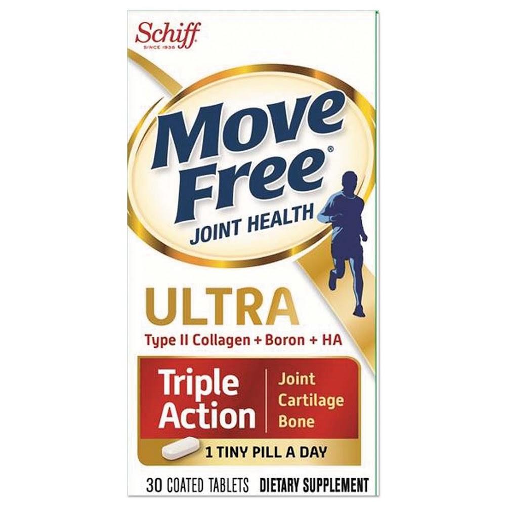 Schiff, Move Free Ultra, 30 таблеток покрытых оболочкой