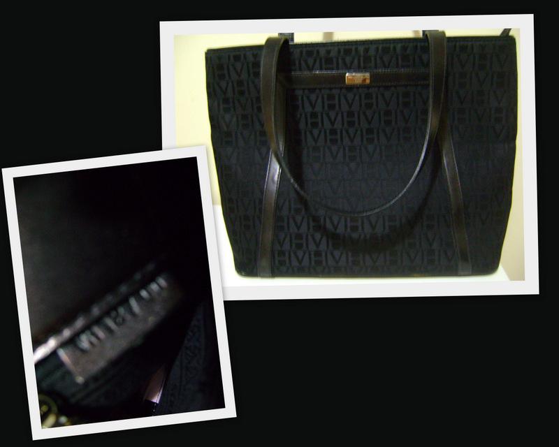 e20d422fb Bolsa VH em Jaquard com detalhes em couro. Etiqueta interna VH 12/00