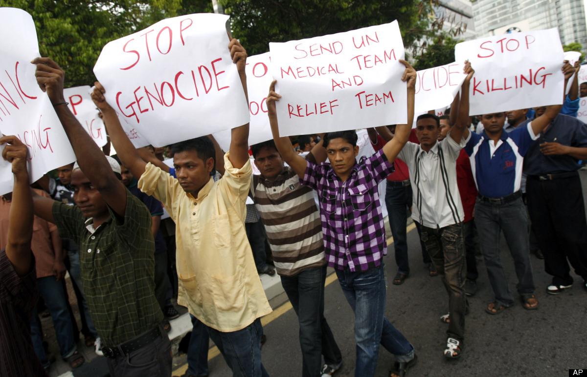 Myanmar Diduga Ingin Hapus Identitas Rohingya