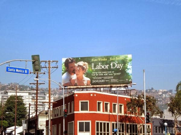 Labor Day movie billboard