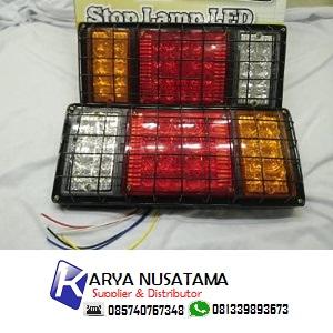 Jual Lampu Truck Signal 3 Warna Kotak 24V di Malang