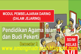 Modul Pembelajaran Daring PAI Dan BP Semester 2 Kelas 4 SD/MI Kurikulum 2013