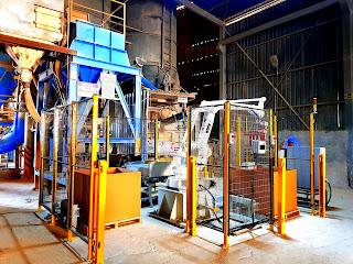 çimento torba box koli paletleme robotu tara robotik otomasyon