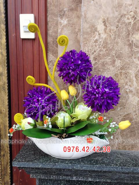 Cua hang hoa pha le tai Gia Lam