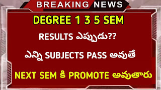 Degree results