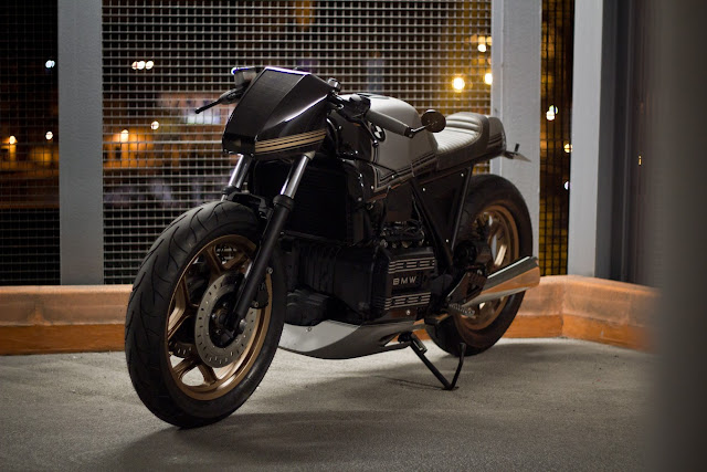 BMW K75 By Ton-Up Garage Hell Kustom