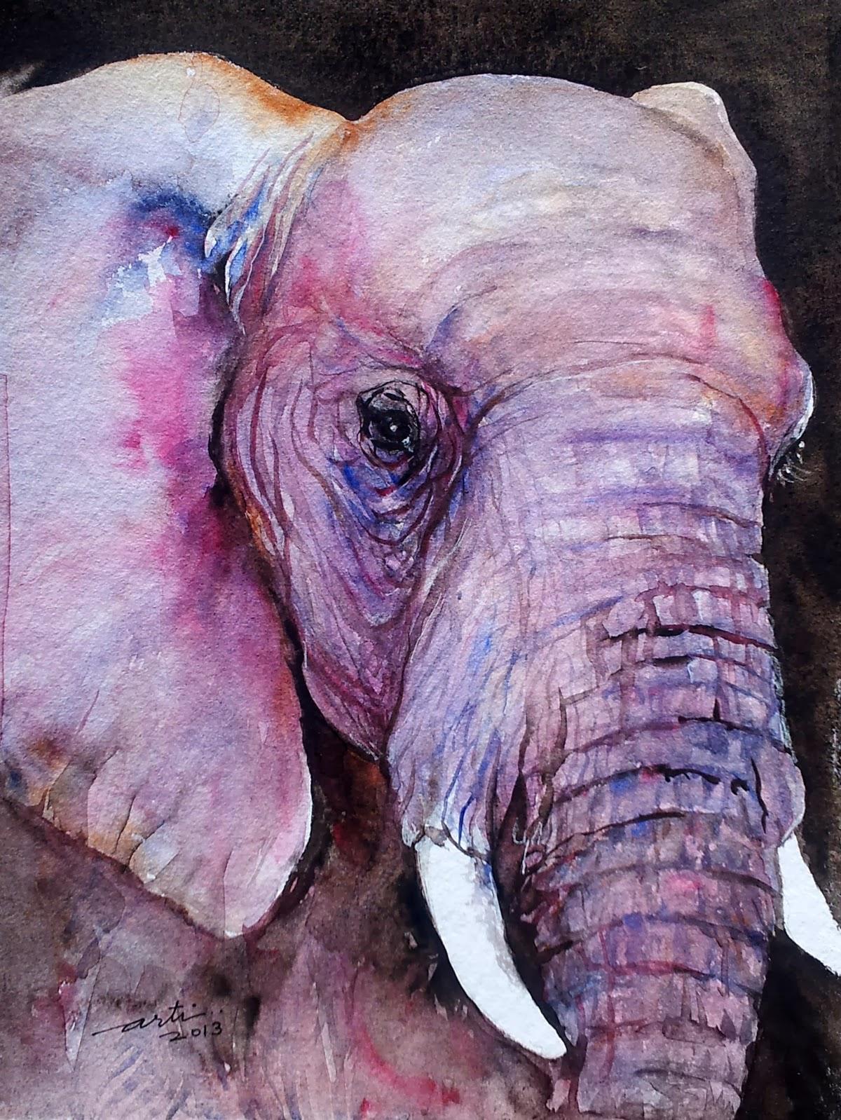 Arti S Art Life As I See It Elephant Paintings