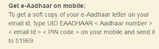 Get Aadhar Card Soft Copy to Mail ID