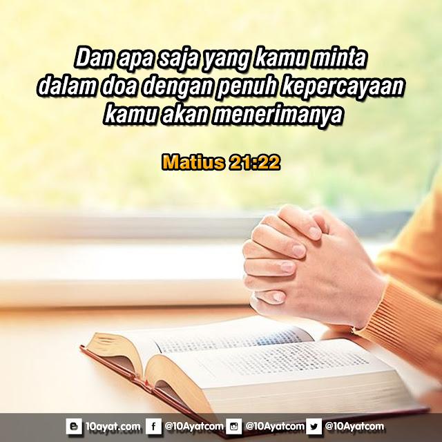 Matius 21:22